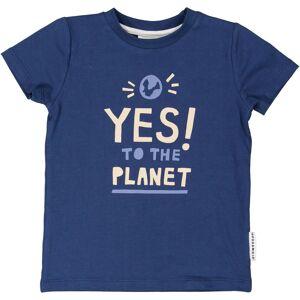 Geggamoja T-shirt Yes to the planet 134/140