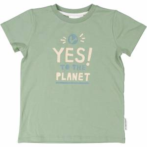 Geggamoja T-shirt Yes to the planet 134/140