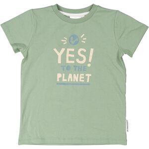 Geggamoja T-shirt Yes to the planet 86/92