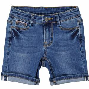 Geggamoja Unisex- Denim shorts 110/116