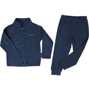 Geggamoja Fleeceset marinblå 134/140