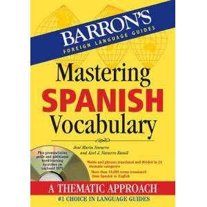 Mastering Spanish Vocabulary with Audio MP3 by José Maria Navarro