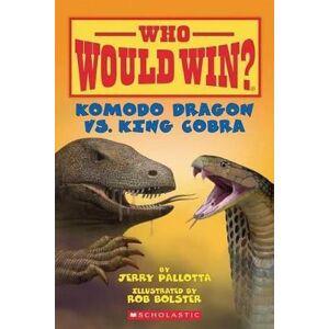 Komodo Dragon vs. King Cobra by Jerry Pallotta