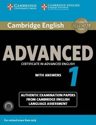 Cambridge English Advanced 1 for Revised Exam from 2015 by Vv.AA