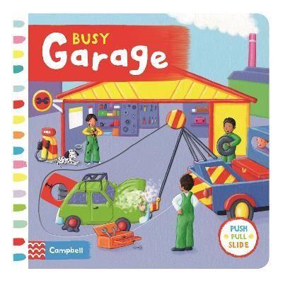 Busy Garage by Rebecca Finn