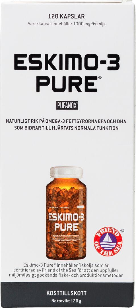 Pure Eskimo-3 Pure Omega-3 120 kaps