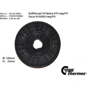 Thermex - Kolfilter Optica 670/Calais/Toulouse/Decor 810/830