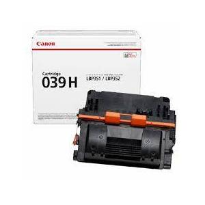 Canon Crg039h Bk Svart Lasertoner, Original