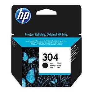 HP 304 Bk -Fn9k06ae Med Chip, Svart Bläckpatron, Original 120 Sidor -3,5 Ml