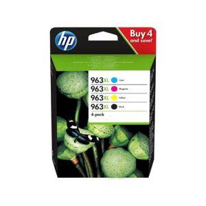 HP 963 XL combo pack 4 stk original bläckpatron (116 ml)