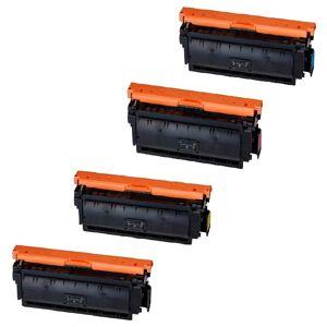 Canon CRG 040H combo pack 4 stk kompatibel Lasertoner (42500 sidor)