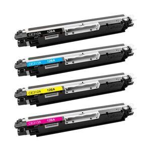 HP 126A combo pack 4 stk kompatibel Lasertoner (4200 sidor)