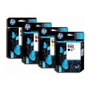 HP 940 XL combo pack 4 stk Original bläckpatron -97 ml