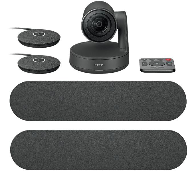 Logitech Rally Ultra-Hd Conferencecam System, Black