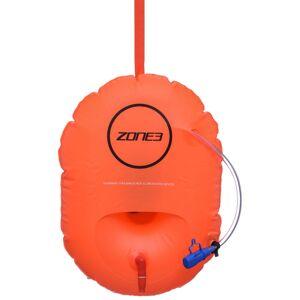 Zone3 SwimSafety Säkerhetsboj med förvaring - One Size Orange   Dolmar