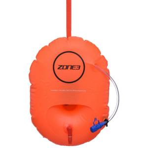 Zone3 SwimSafety Säkerhetsboj med förvaring - One Size Orange   Dolmar