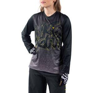 Nukeproof Blackline Långärmad tröja - Dam - Medium Svart/gul