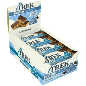 TREK Flapjack Energibar (16 x 50 g) - 16x50g 11-20 Cocoa and Coconut