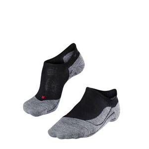 Falke TK5 Invisible Women No Show Socks Black Mix