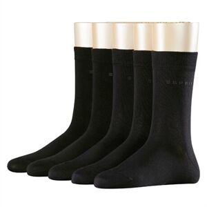 Esprit 5-pack Women Socks Black