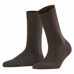 Falke Softmerino Women Socks Dark Brown