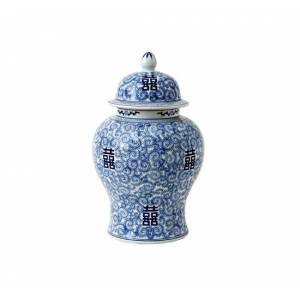 Eichholtz Urna Glamour Chinese Blue XL