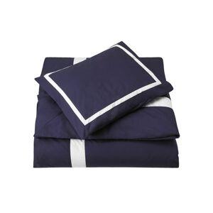 Newport Collection Mayfair påslakan blå/vit