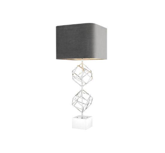 Eichholtz Bordslampa Matrix Nickel