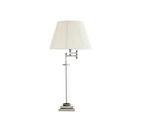 Eichholtz Beaufort bordslampa nickel
