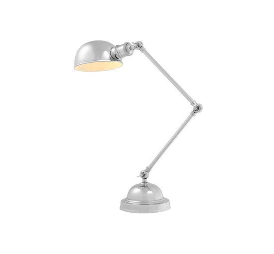 Eichholtz Soho bordslampa nickel