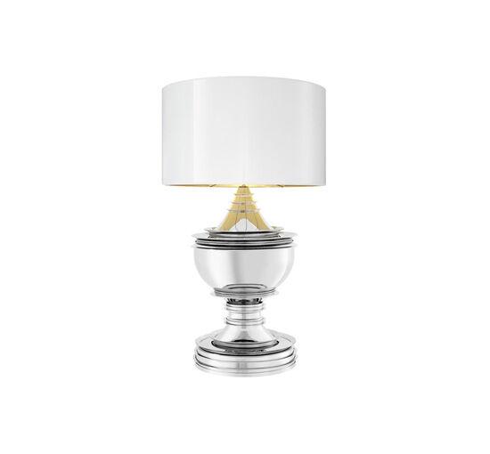 Eichholtz Bordslampa Silom Nickel