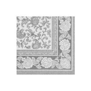 Edelweiss Royal servetter grå 20-pack