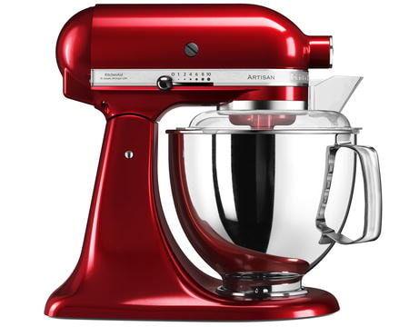 KitchenAid Artisan 175 Köksmaskin 4,8L Röd Metallic