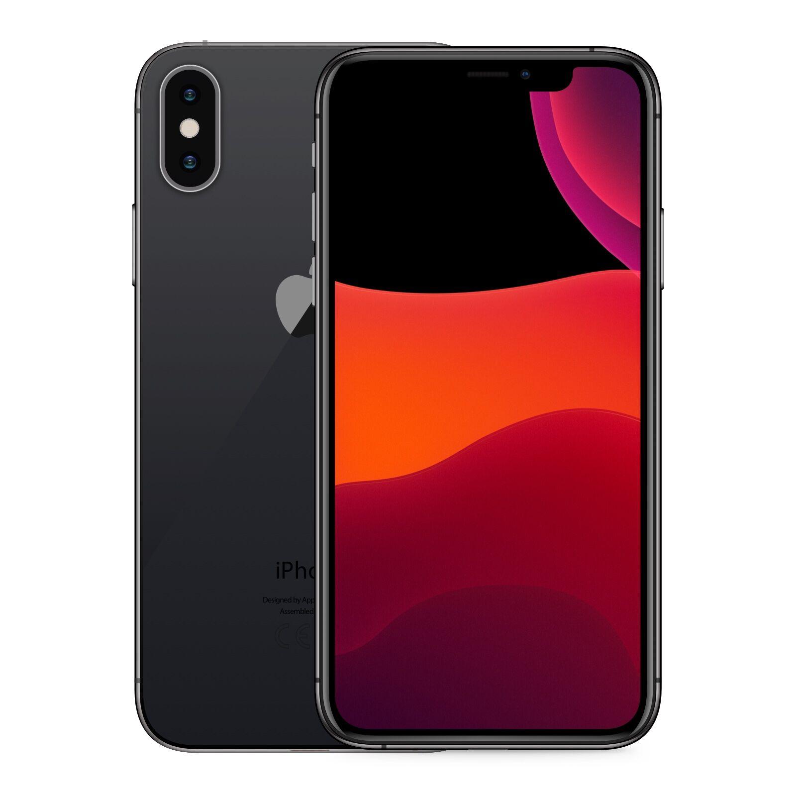 Apple iPhone XS Max 256GB Rymdgrå Klass: A