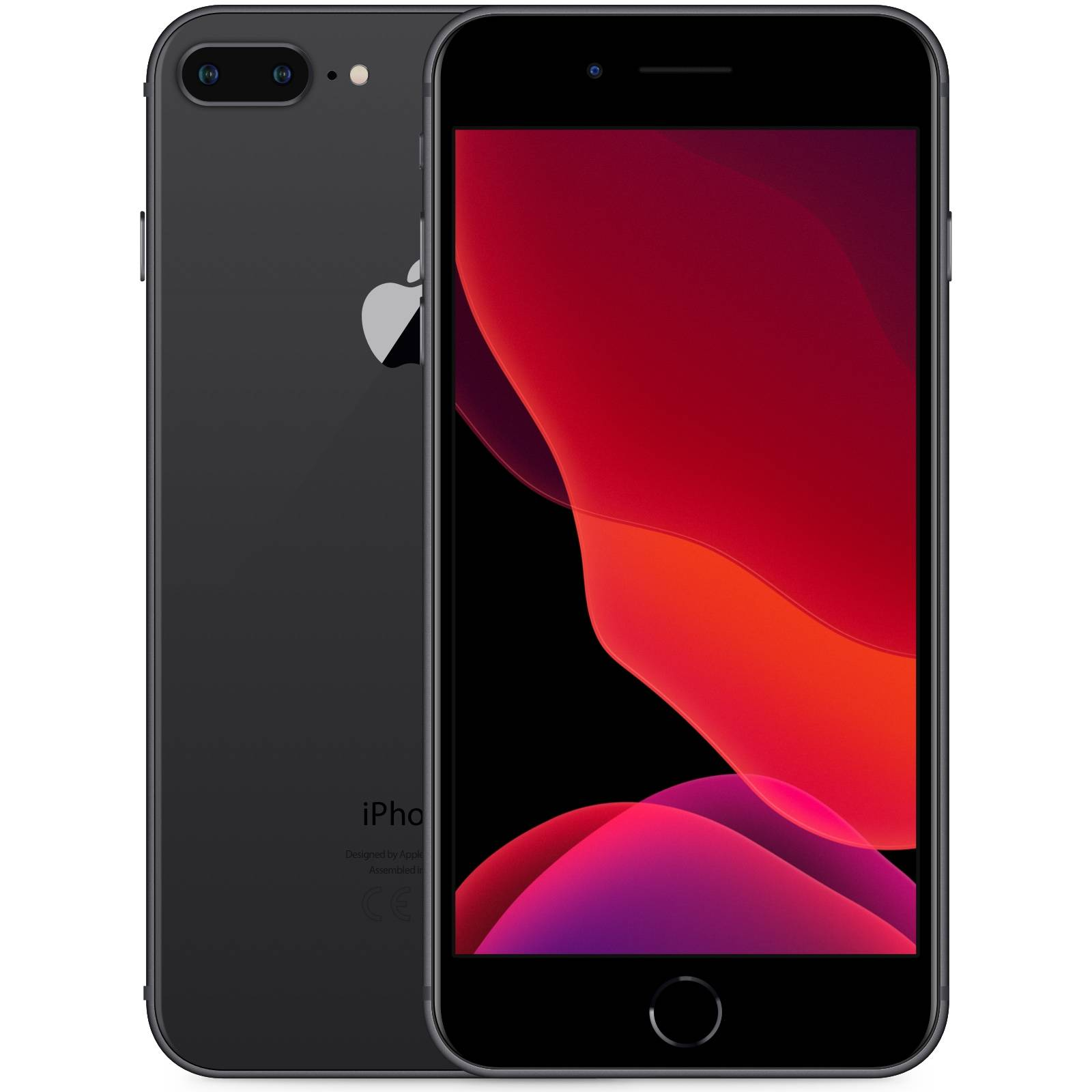 Apple iPhone 8 Plus 256GB Rymdgrå Klass: C
