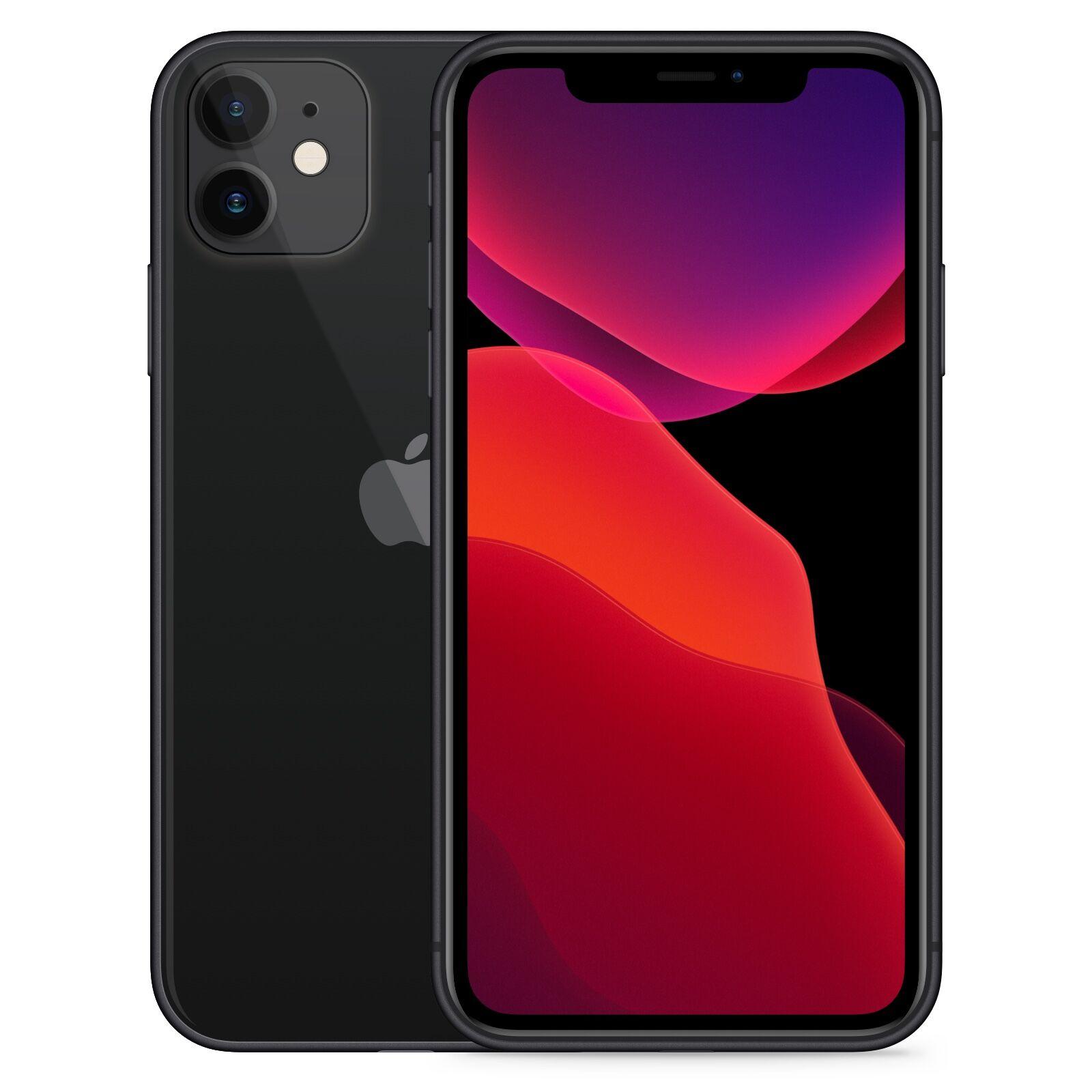 Apple iPhone 11 256GB Svart Klass: C