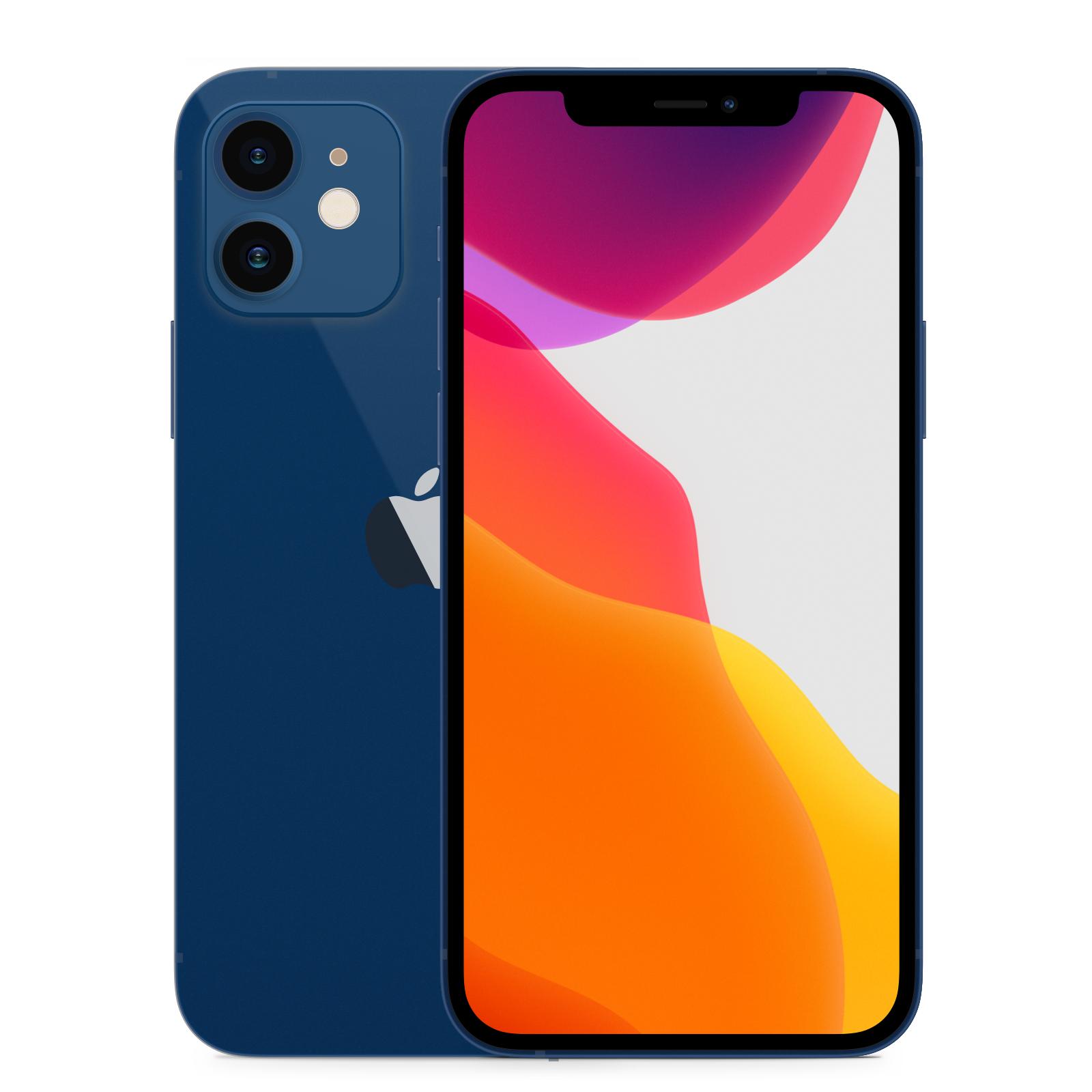 Apple iPhone 12 64GB Blå Klass: A