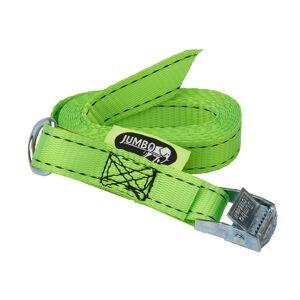 Jumbo stropp till baklucka- Med ring och Quickstramare - Grön