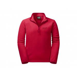 Jack Wolfskin Gecko - Fleece pullover - Kids - Str. 128 - Röd