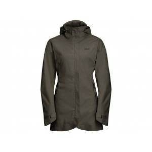 Jack Wolfskin Ruunaa Skaljacka - Dam Str. XL - Grape leaf