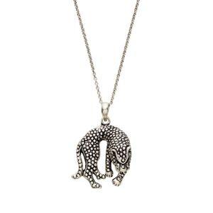 Indiska Silverpläterat halsband