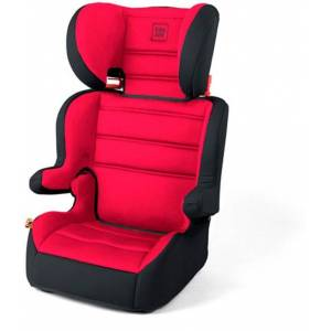 Bilstol Cubox Foldbar Röd / Svart