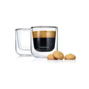 BLOMUS Nero, Espressoglas 2-Pack