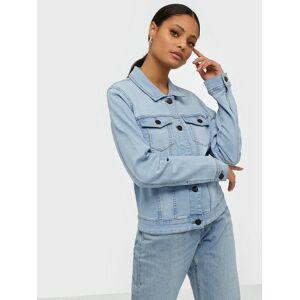 Noisy May Nmdebra L/S Denim Jacket Lb Bg Noos Jeansjackor