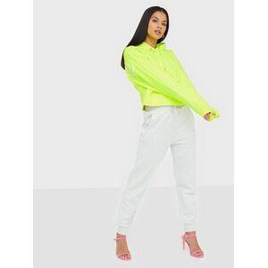Calvin Klein Jeans Puff Print Cropped Hoodie Hoodies Yellow
