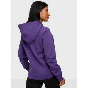 Calvin Klein Jeans Shrunken Inst Reg Hoodie Hoodies Purple