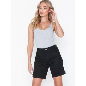 Vila Vichino Rwre New Shorts-Noos Shorts Svart