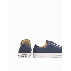 Converse All Star Canvas Ox Sneakers Navy