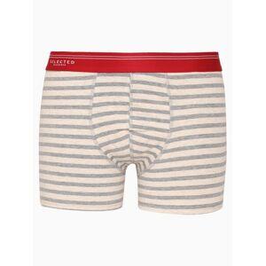 Selected Homme Slhclassic Stripe Trunk B Boxershorts Mörk Röd