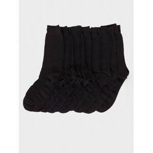 Selected Homme Slhandrew 10-Pack Sock B Noos Strumpor Svart